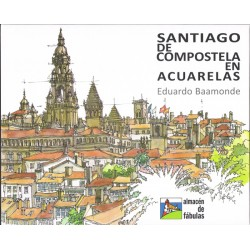 Santiago de Compostela en acuarelas
