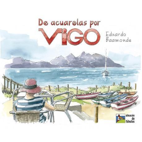 De acuarelas por Vigo