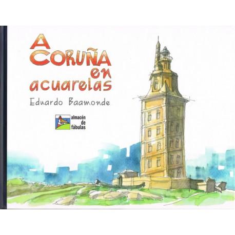 A Coruña en acuarelas